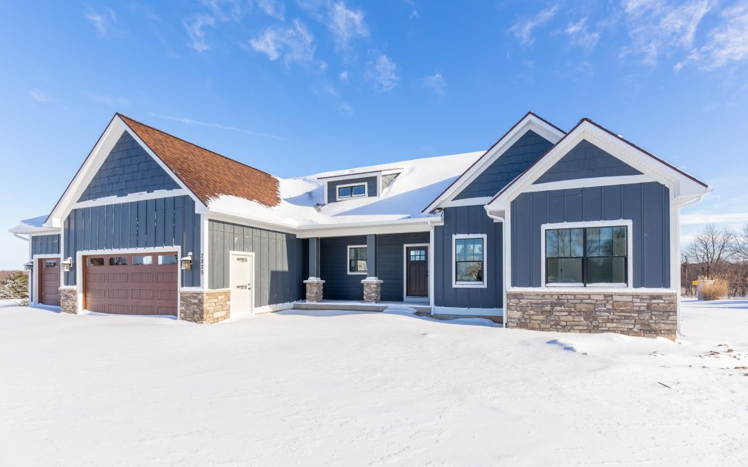 can you build a custom home in michigan during the winter