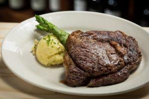 Steak and Potato dish at Reds