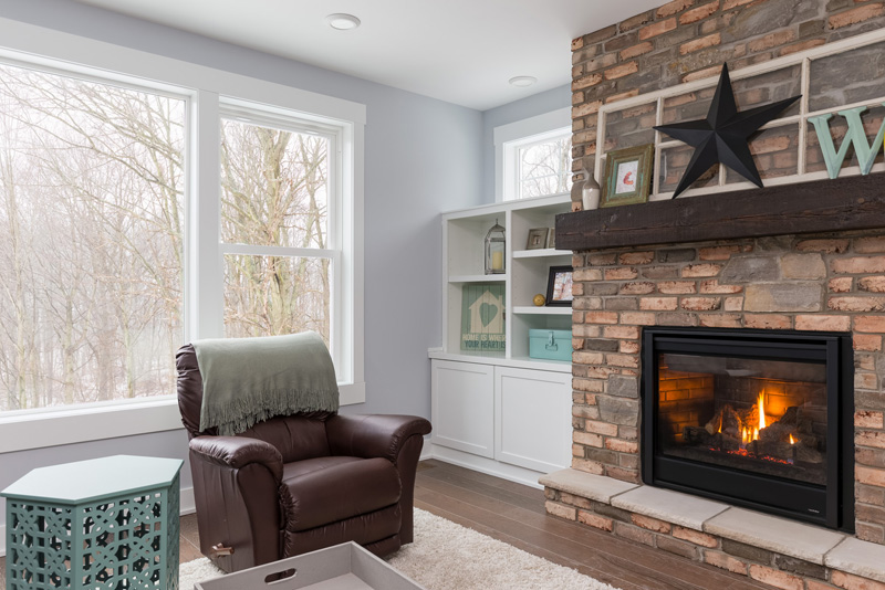 Family retreat living room